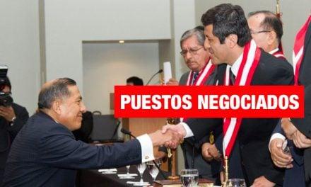 Así negociaban la presidencia del CNM y otras cortes