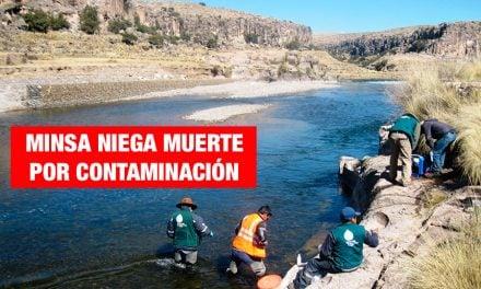 Fiscalía investiga a ambientalistas que denunciaron contaminación en Espinar