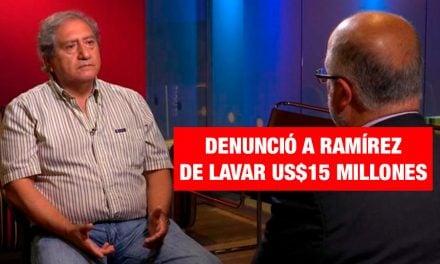 Piloto confirma denuncia contra fujimorista Joaquín Ramírez