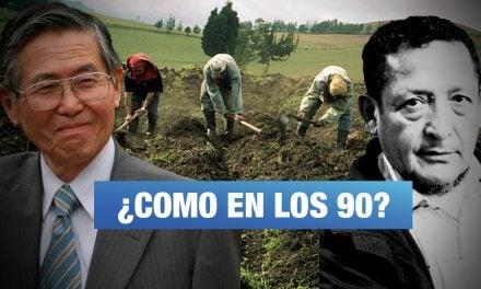 """""""Con 'Mi Agro' corremos el riesgo de volver a la época de Fujimori"""""""