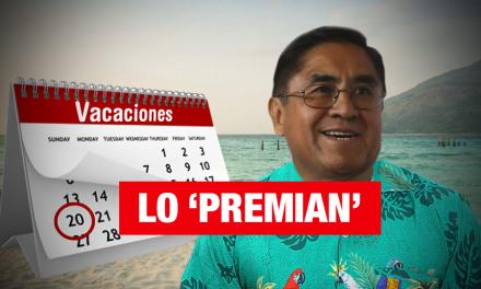 Juez Hinostroza: Le dan 30 días de vacaciones y lo reubican en Sala Constitucional