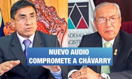"Fiscal Gálvez a Hinostroza: ""Si Gonzalo (Chavarry) ya es fijo"""