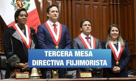 Fujimorismo retiene la mesa directiva por seis meses más