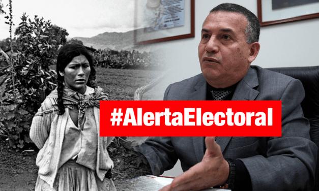 Urresti, el candidato acusado de violación que propone ayuda espiritual para mujeres violentadas