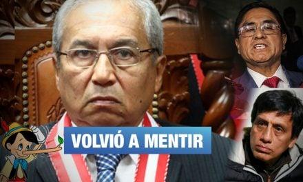 Pedro Chávarry admite que sí se reunió en casa de Antonio Camayo