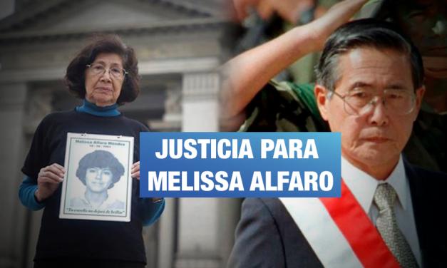 Fiscalía pide incluir a Fujimori entre acusados por caso Melissa Alfaro