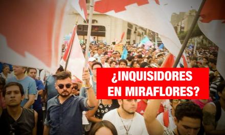 """Los """"hijos"""" de la Santa Inquisición tienen un candidato a regidor en Miraflores"""
