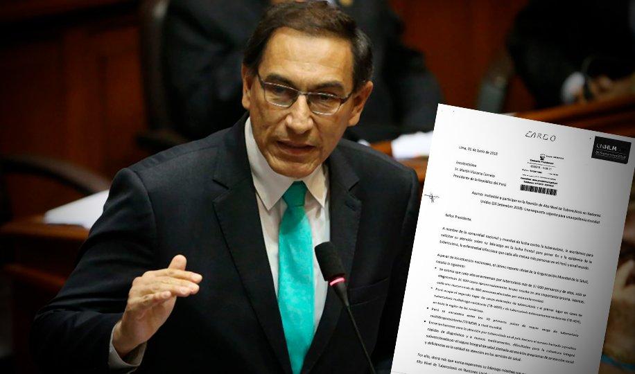 Vizcarra asistirá a reunión de alto nivel de tuberculosis de la ONU