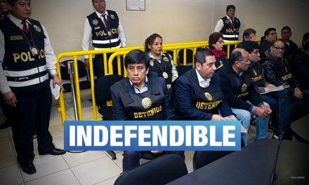 """Abogado de Camayo: """"No hay tráfico de influencias, solo delito de organización criminal"""""""