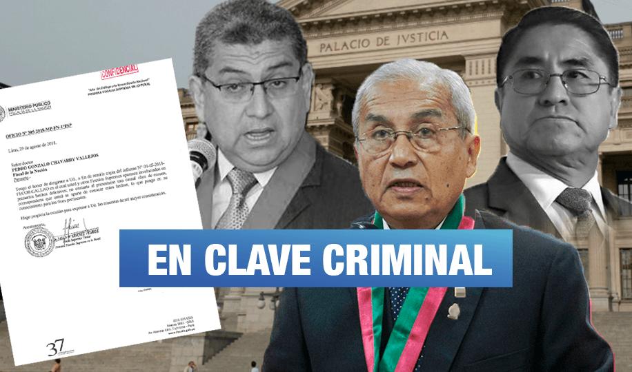 La jerga delincuencial de los fiscales y jueces que integran 'Los Cuellos Blancos del Puerto'