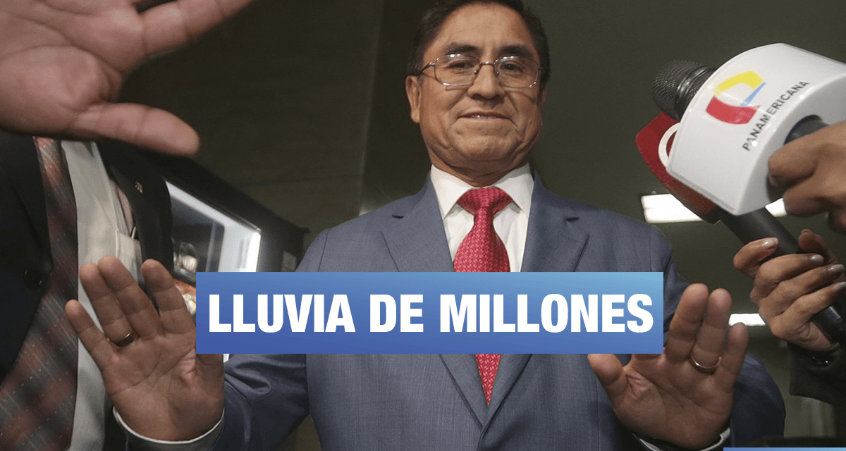 """Hinostroza: """"Más de medio millón de soles me pagó el Estado como indemnización"""""""