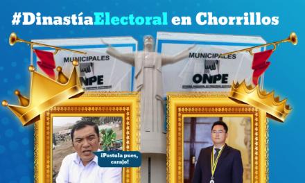 Alcalde Miyashiro deja a su hijo como candidato a la alcaldía de Chorrillos