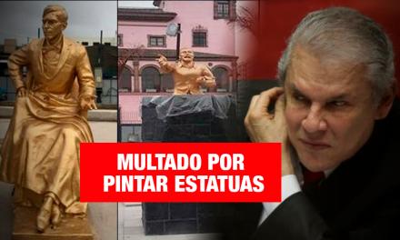 Multan con S/ 62 mil a la Municipalidad de Lima por pintar monumentos históricos