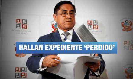 Procuraduría de Lavado de Activos pide reabrir investigación contra juez Hinostroza