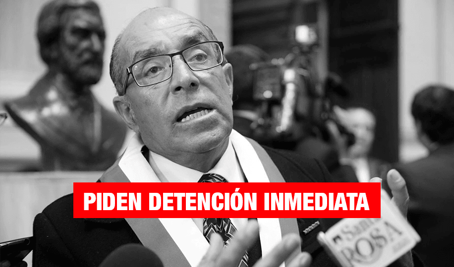 Solicitan que el Congreso levante inmunidad parlamentaria de Edwin Donayre para arrestarlo