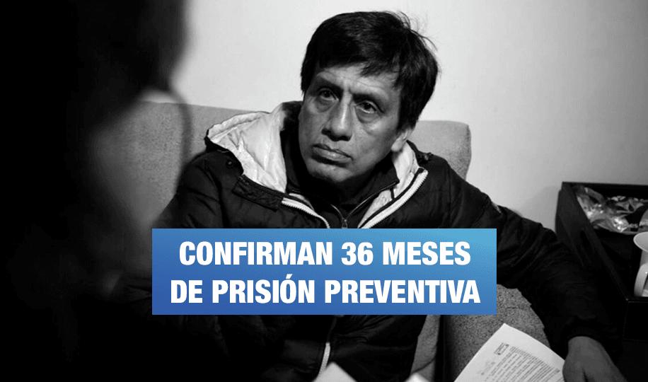 Sala Penal de Apelaciones confirma prisión preventiva para 'Los Cuellos Blancos del Puerto'