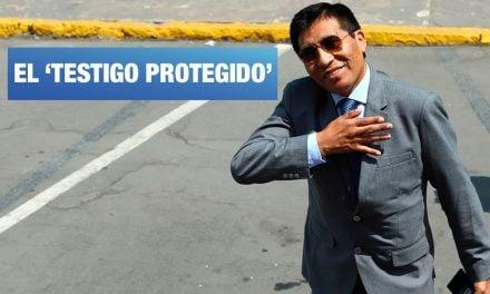 Moisés Mamani es el 'testigo protegido' del fiscal Chávarry