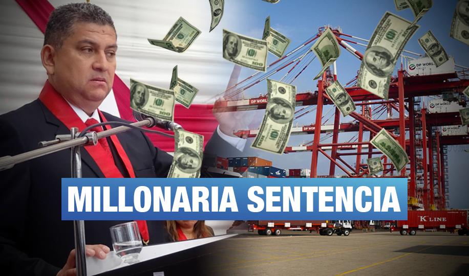 Los 'Cuellos Blancos del Puerto' aprobaron demanda de US$242 millones contra el MEF