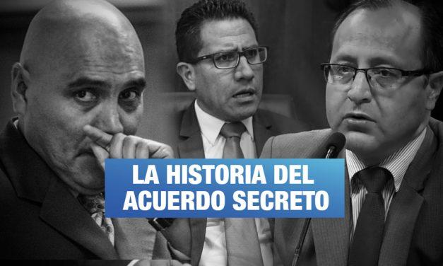 Así fue el acuerdo secreto entre un fiscal y un ex testaferro de Montesinos