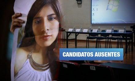 Solo dos candidatos asisten a pacto contra la violencia de género