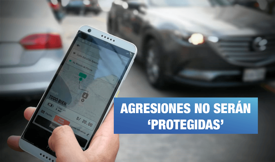 Proyecto de ley busca garantizar seguridad al tomar taxis por aplicativos