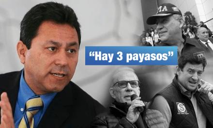 Ocrospoma calificó de 'payasos' a Urresti, Reggiardo y Belmont