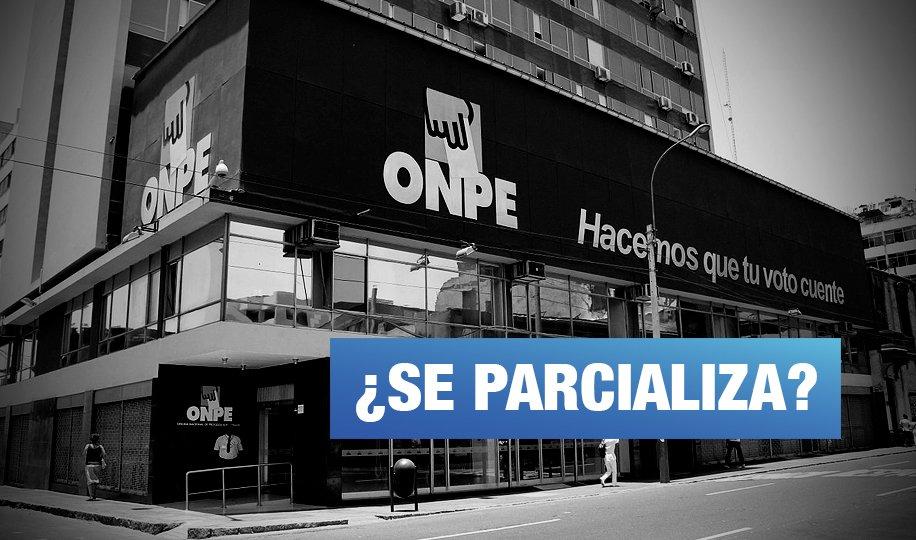 Acusan a ONPE de favorecer a cinco candidatos