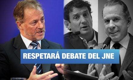 """Jorge Muñoz: """"No les voy a hacer el juego antidemocrático a Belmont y Reggiardo"""""""