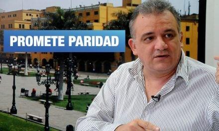 """Gustavo Guerra: """"Si ganamos, habrá una mayoría femenina"""""""