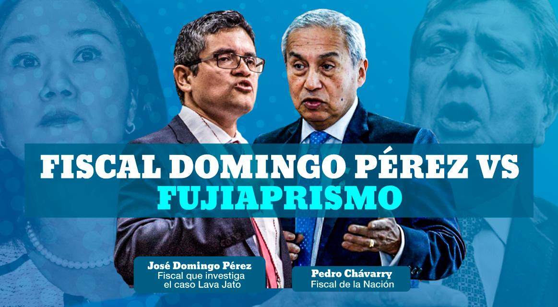 Fiscal Domingo Pérez vs el Fujiaprismo