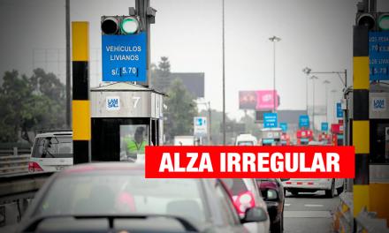 Contraloría: tarifas del peaje en Línea Amarilla no se ajustan al contrato