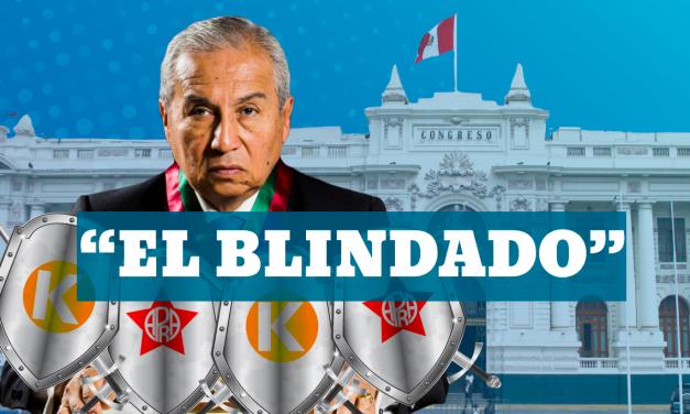 El blindado: Fiscal Pedro Chávarry es protegido por fujiaprismo