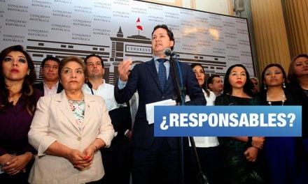 Responsabilizan al fujimorismo de la fuga de César Hinostroza