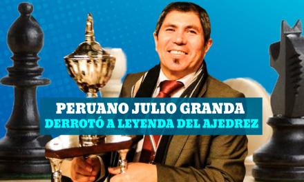 Julio Grande derrotó a leyenda del ajedrez Anatoli Kárpov