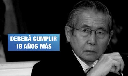 <H1>Poder Judicial anula indulto de Alberto Fujimori y ordena su captura</H1>-<p style='font-weight: normal;'>Fujimori deberá asumir los 18 años más de pena privativa de la libertad que le quedaban.</P></H6>