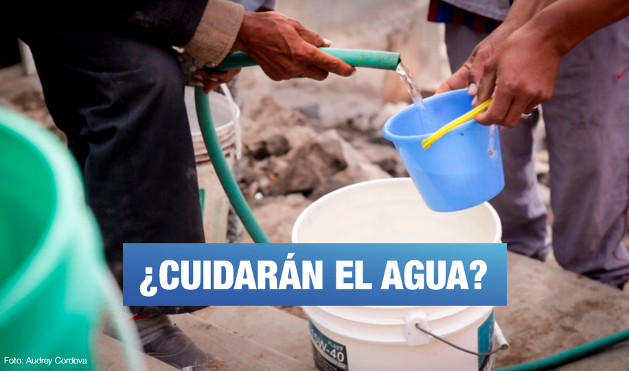 ¿Qué proponen los candidatos para cuidar las aguas de Lima?