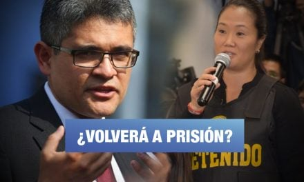 Domingo Pérez decide hoy si pide prisión preventiva para Keiko Fujimori
