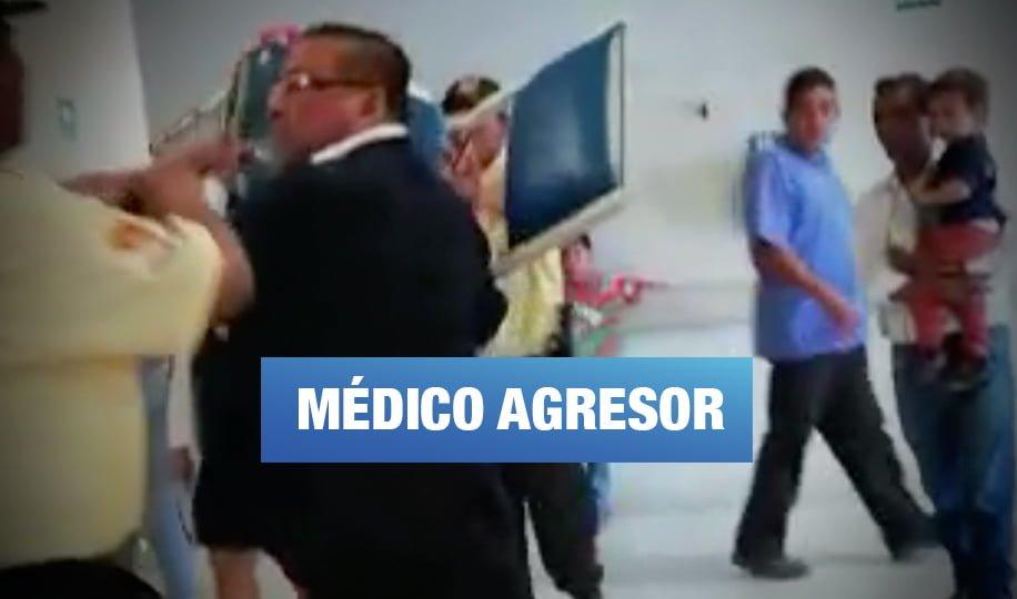 EsSalud separó por segunda vez a médico que intentó agredir a una paciente