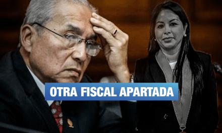 Chávarry removió a fiscal que investiga a 'Los Cuellos Blancos del Puerto'