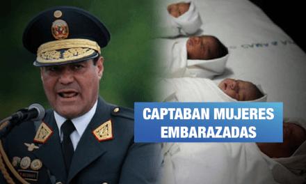 Arequipa: Exdirector de la policía detenido por integrar banda de tráfico de bebés