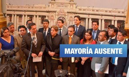 Fuerza Popular dejó 7 veces sin quórum a la Comisión de Pueblos