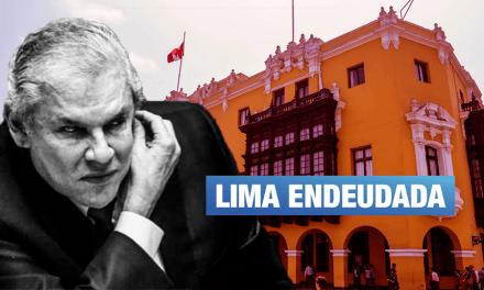 Castañeda Lossio dejará la municipalidad con deuda de más de S/1,700 millones