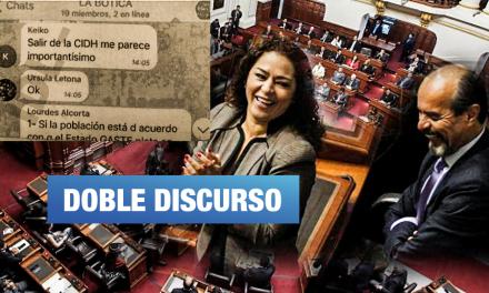 """Chacón y Mulder envían carta a CIDH acusando """"criminalización de la política"""""""