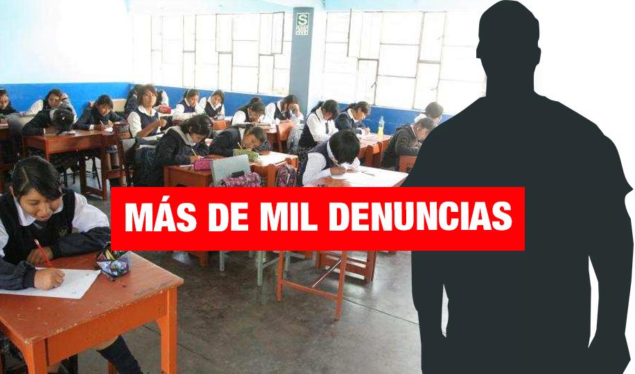 Incrementan casos de violencia sexual escolar en todo el Perú