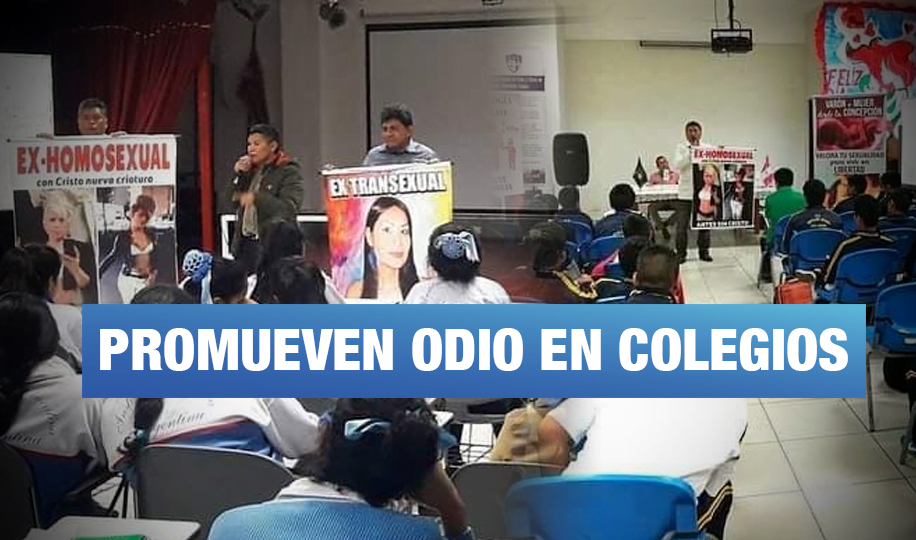 Colegio emblemático Bartolomé Herrera permite charlas sobre 'ideología de género'