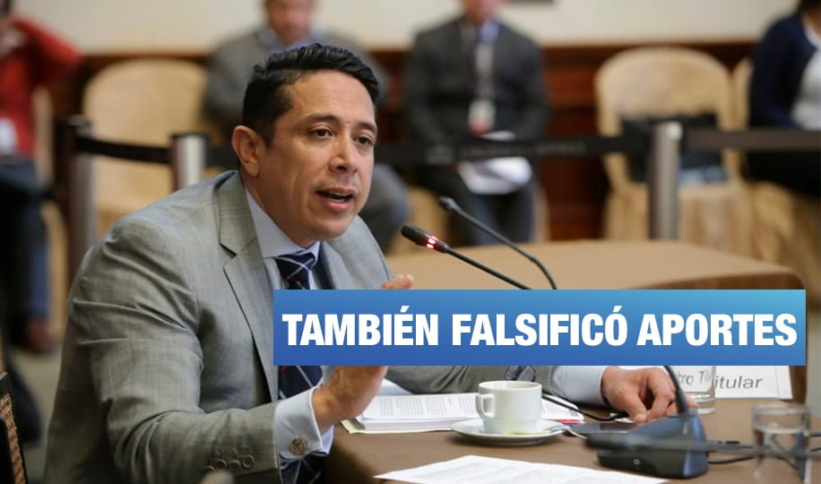 Congresista Miguel Castro confesó falsificar aportes para Keiko Fujimori