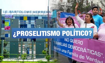 Reportan más casos de charlas que promueven el odio en colegios de Lima