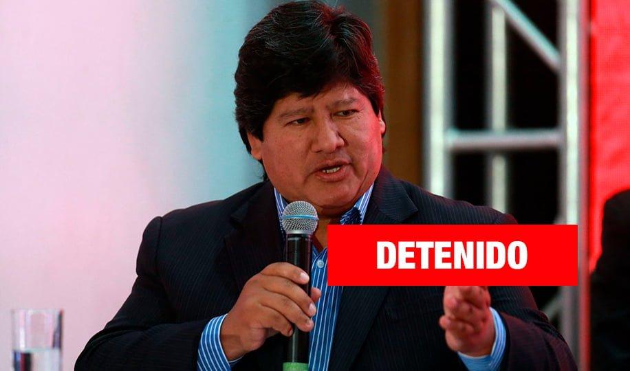Detienen a Edwin Oviedo por el caso 'Los Cuellos Blancos del Puerto'
