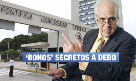 PUCP: 50 profesores recibieron 'bonos' irregulares de Marcial Rubio