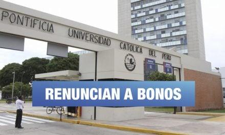 PUCP: Profesores reconocen falta de transparencia en la entrega de 'bonos'